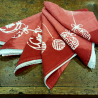 Napkins Christmas Collection in linen