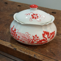 Italian Ceramic cookie jar hand-made
