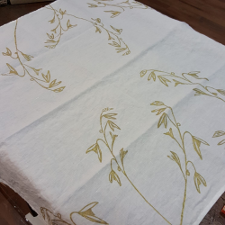 Murous tablecloth tablecloth in organic natural linen