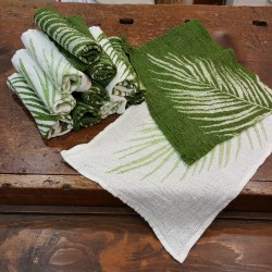 Pure linen palm collection lavette