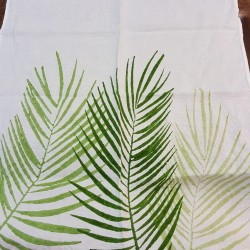 Dish Cloth in crumpled natural linen palm collection