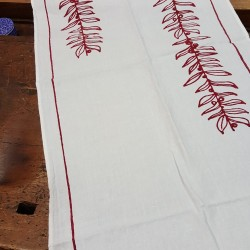 Table Runner linen fabric...