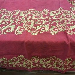 Christmas tablecloth Red...