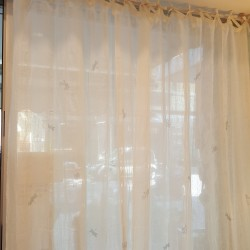 Curtains  linen fabric made...