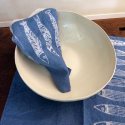 Italian table bowl made in porcelain
