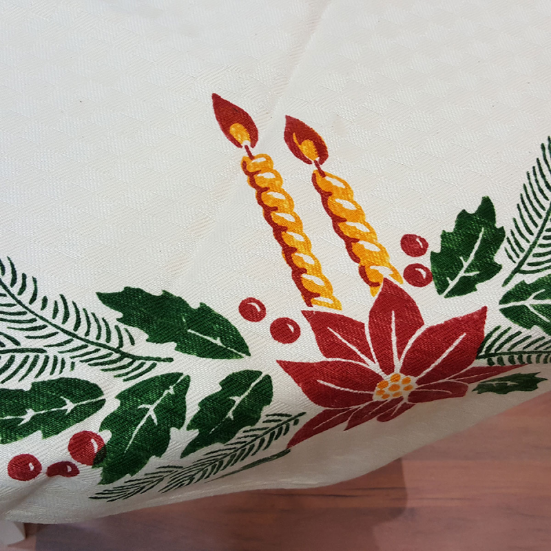 Christmas Tablecloth Stamperia Bertozzi