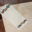 Christmas placemat in linen