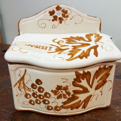 Container in Ceramic for Salt
