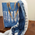 Italian Shopper bag panarea collection Stamperia Bertozzi