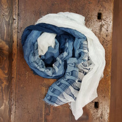 Linen scarf collection Panarea