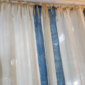 Linen curtains for the house