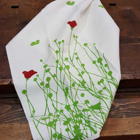 Dishcloths tulips print