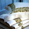 Set Bedding and pillow decorations oak print Bertozzi